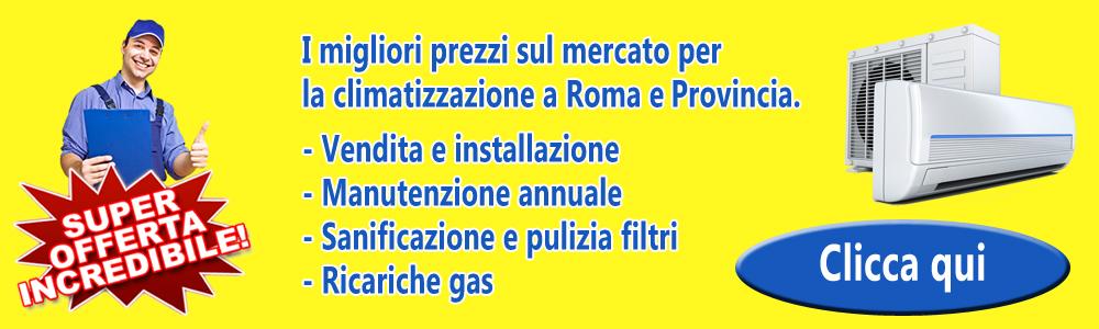 Offerte Vendita Installazione Manutenzione Pulizia Filtri Condizionatori Roma